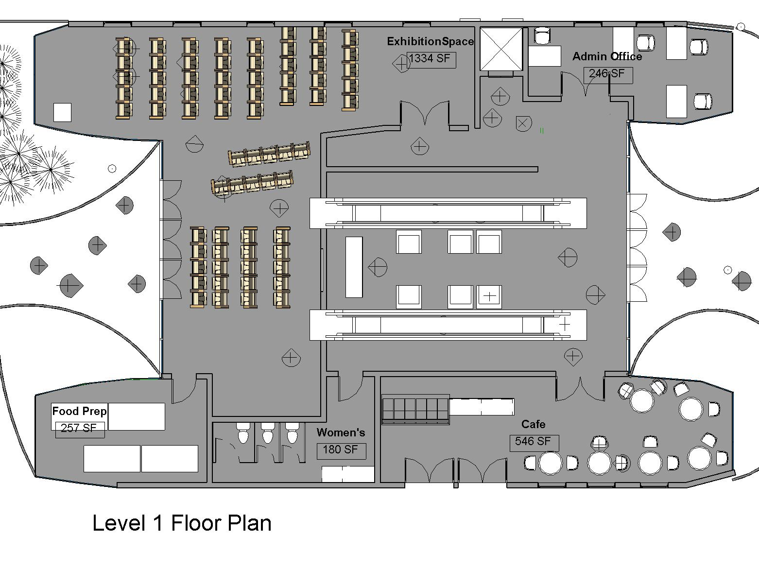 Architectural foundation of san francisco build sf summer for 1 level floor plans