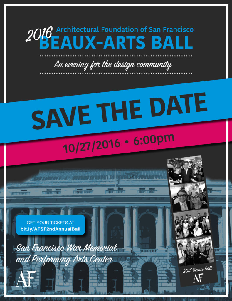 AFSF Beaux Ball 2016 Save the Date
