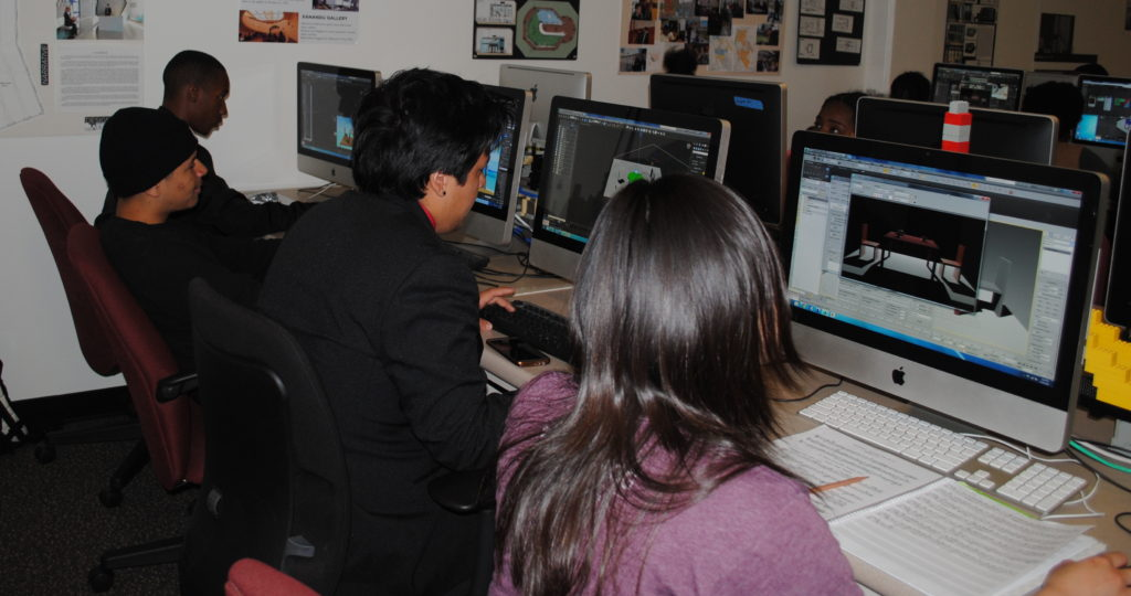 AFSF students learn professional 3D digital design tools